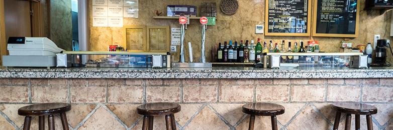 Interior del Bar Mr Dumbo (Zaragoza)