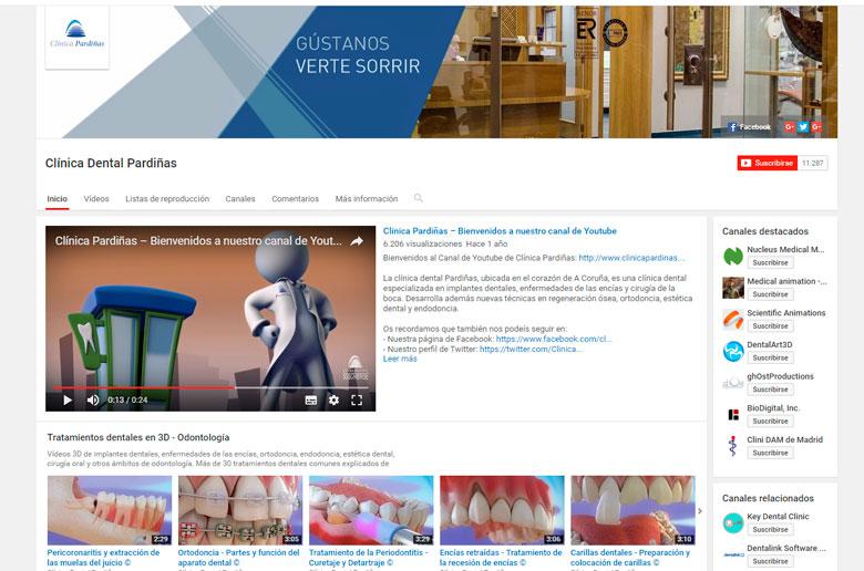 Crea un canal de Youtube y asócialo a tu web y a tu marca