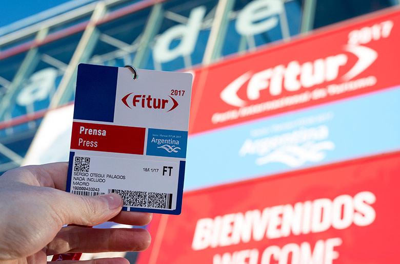 Acreditación para entrar a la Feria Internacional de Turismo de Madrid (FITUR)