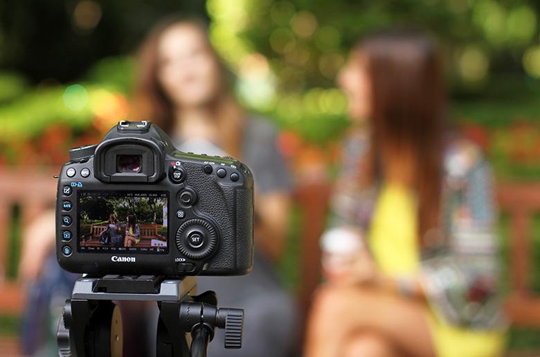 Grabación de un vídeo corporativo en Pamplona