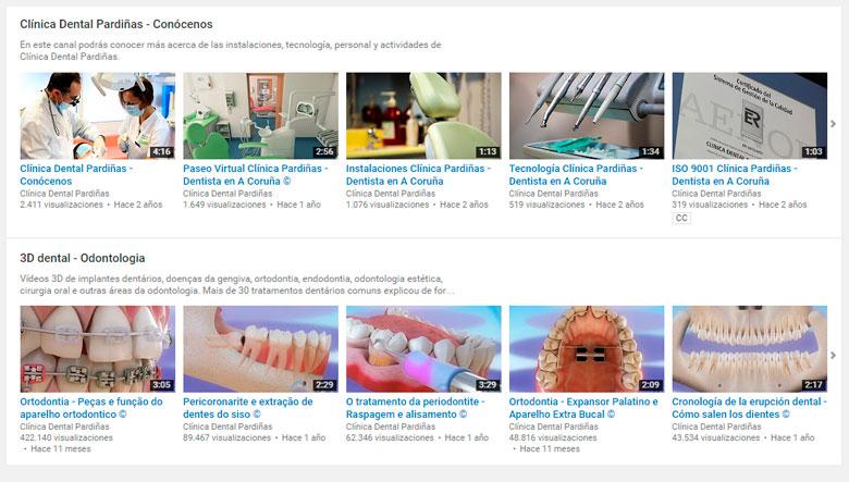 Para optimizar un canal de Youtube suele funcionar bien subir vídeos de diferentes formatos