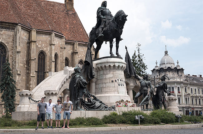 En verano de 2016 estuvimos de viaje por Rumanía