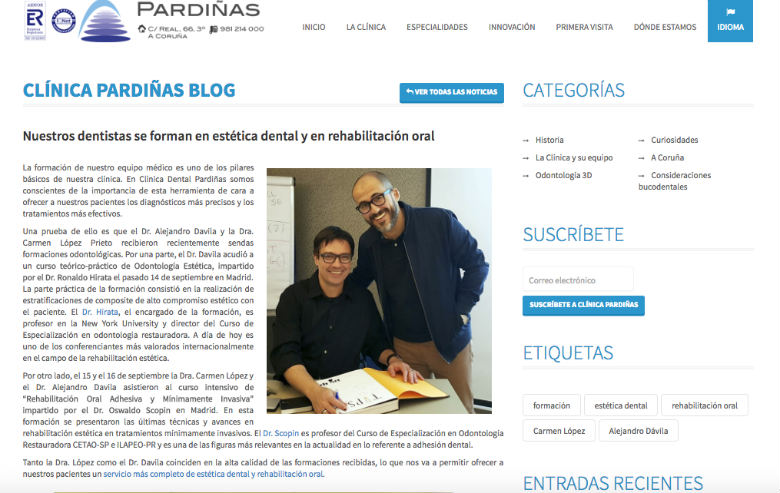 Debemos utilizar el blog como eje central. Entorno a nuestro blog girará toda nuestra estrategia de contenidos