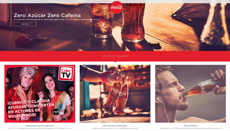 Marcas como Coca-Cola inspiran unos valores y sentimientos que te hacen identificarte con ellas