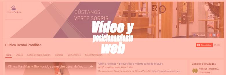 Portada del artículo sobre la importancia del vídeo en el posicionamiento web