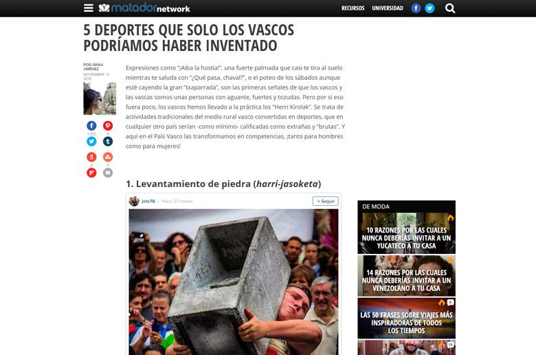 Escribimos contenidos para blog y redes sociales. en el País Vasco