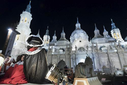 Fotografía de la Cabalgata de los Reyes Magos de Zaragoza